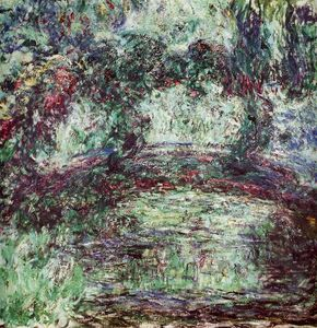 Claude Monet - Il ponte giapponese