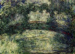 Claude Monet - Il ponte giapponese 10
