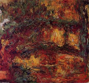 Claude Monet - il ponte giapponese a giverny