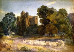 David Cox - Castello di Kenilworth