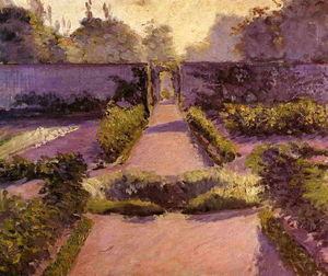 Gustave Caillebotte - L orto, Yerres