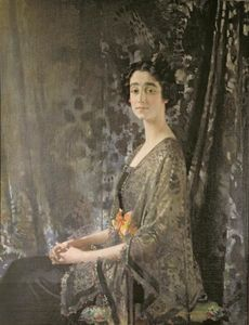 William Newenham Montague Orpen - Lady Rocksavage
