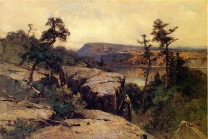 George Henry Smillie - Lake Mohonk