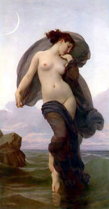 William Adolphe Bouguereau - La Crepuscule (noto anche come Evening Mood)