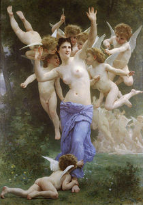 William Adolphe Bouguereau - Le guêpier