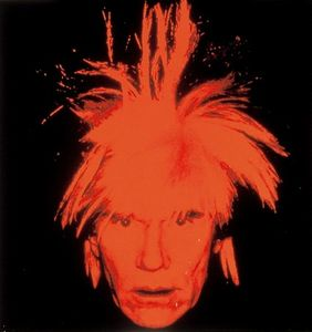 Andy Warhol - autoritratto