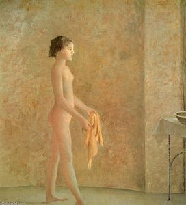 Balthus (Balthasar Klossowski) - Nude in Profile
