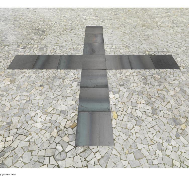 Personal structures di carl andre for Minimal art artisti