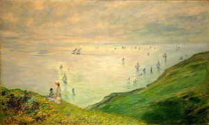 Claude Monet - Scogliere Walk at Pourville