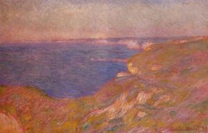 Claude Monet - Cliff vicino a Dieppe