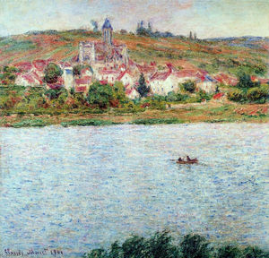 Claude Monet - Vetheuil, Mattina Effect