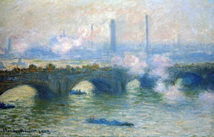 Claude Monet - waterloo ponte londra
