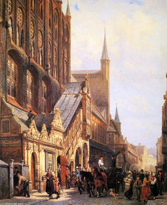 Cornelis Springer - Municipio in lbeck