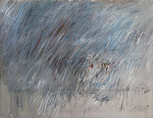 Cy Twombly - senza titolo 23
