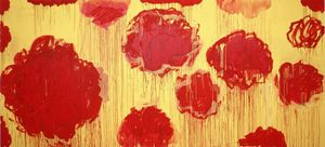 Cy Twombly - Untitled (serie Peonia)