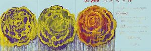Cy Twombly - I Rose ( III )