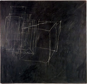 Cy Twombly - notte guardare