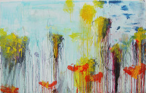 Cy Twombly - Lepanto, pannello 7