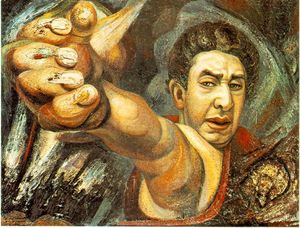 David Alfaro Siqueiros - autoritratto
