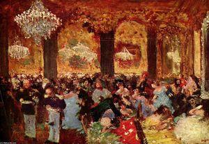 Sala Da Biliardo Degas : La sala da biliardo a menil hubert di edgar degas