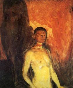 Edvard Munch - autoritratto in inferno