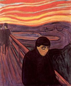 Edvard Munch - Disperazione