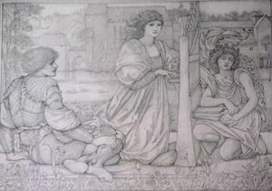Edward Coley Burne-Jones - canzone d'amore