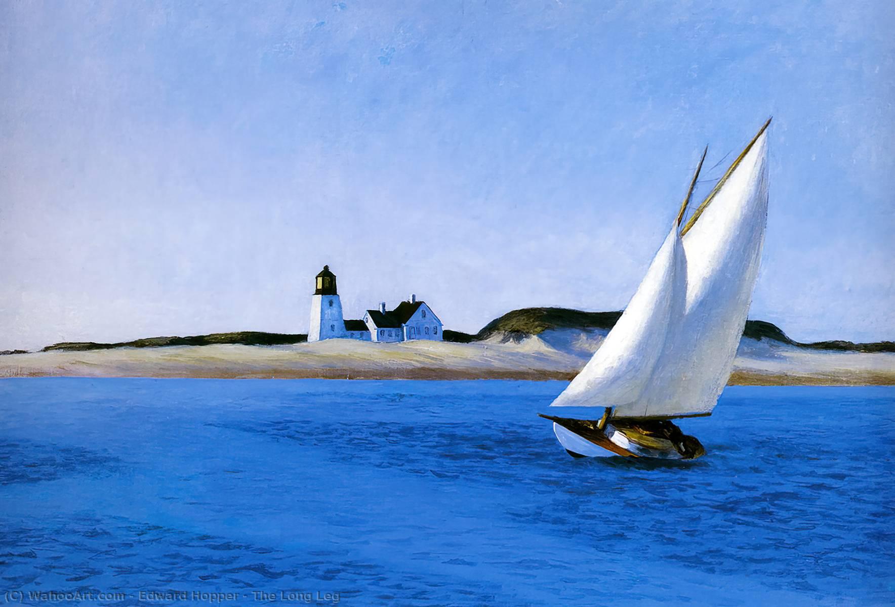 Il lungo gamba 1930 di edward hopper 1931 1967 united for Hopper finestra sul mare
