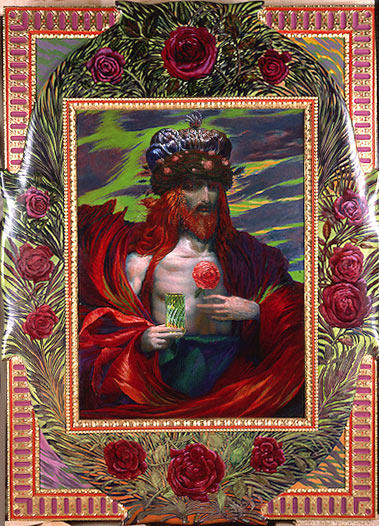 il rose re, 1984 di Ernst Fuchs (1930-2015, Italy) | Copia Pittura | WahooArt.com