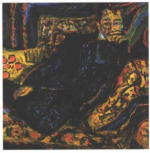 Ernst Ludwig Kirchner - Ritratto di Hans Frisch