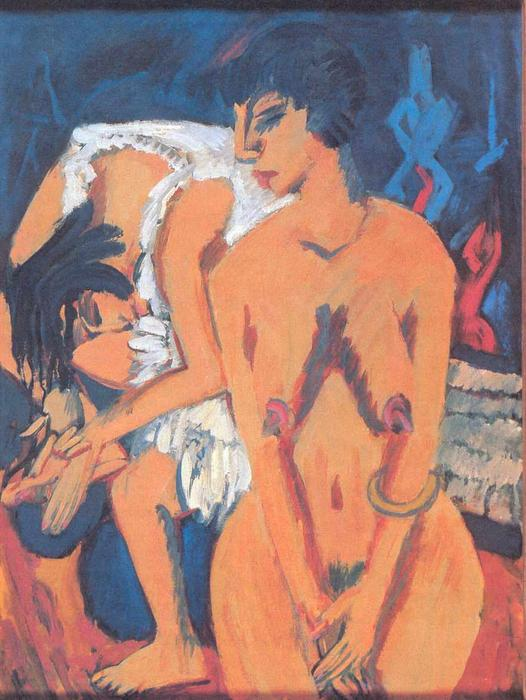 donne di Ernst Ludwig Kirchner (1880-1938, Germany)