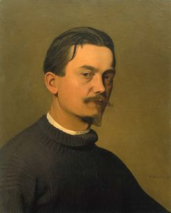 Felix Vallotton - autoritratto