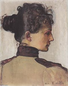 Ferdinand Hodler - ritratto berthe jacques