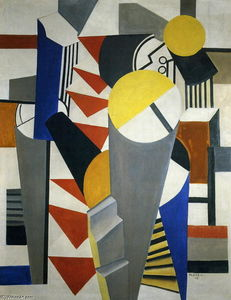 Fernand Leger - Composizione