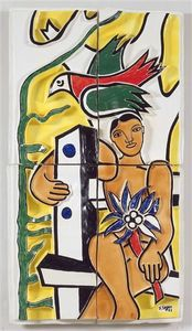 Fernand Leger - bambini nel uccello