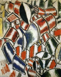 Fernand Leger - Il Sitted donna