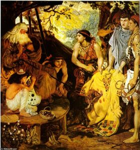 Ford Madox Brown - jacob e `joseph's` cappotto