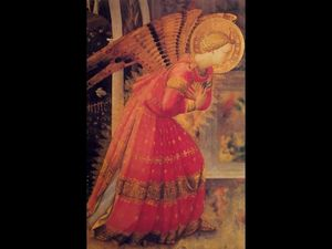 Fra Angelico - Annunciazone particolare