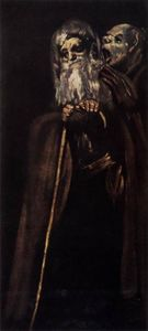 Francisco De Goya - Due monaci
