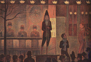 Georges Pierre Seurat - Circo Sideshow