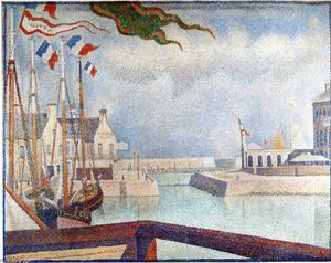 Georges Pierre Seurat - Domenica a Port-en-Bessin