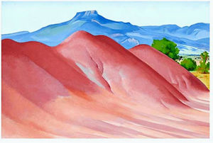 Georgia O-keeffe - Red Hills e Pedernal