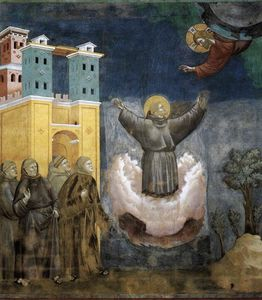 Giotto Di Bondone - estasi di san Francesco