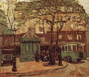 Grant Wood - Bus Verdastro in via di Parigi