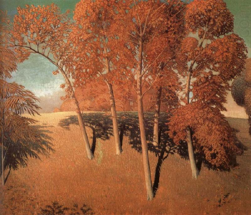 Spring's Quercia, 1932 di Grant Wood (1891-1942, United States)