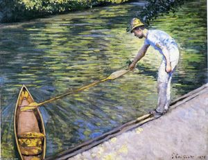 Gustave Caillebotte - Canottaggio sulle Yerres