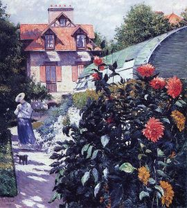 Gustave Caillebotte - Il Giardino Petit Gennevilliers