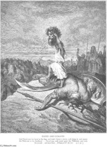 Paul Gustave Doré - Davide uccide Goliath