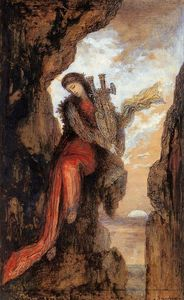 Gustave Moreau - Saffo on the Cliff