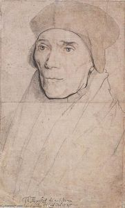 Hans Holbein The Younger - Ritratto del vescovo John Fisher